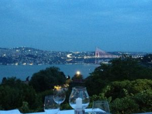 A magnificent view from the reception/dinner venue of the great City at night!