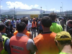 Employers came back to the table following strike action by dockers in Batimi