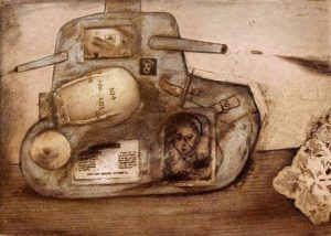 Tanker., Etching and aquatint, limited edition, (C) Carolyn Gowdy