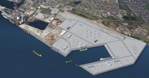 Visualisation of Port of Esbjerg