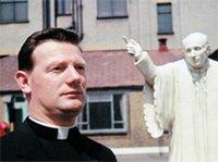 Martin Gordon as a priest