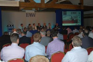 Another lively discussion rounds off a highly successful day one
