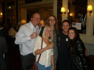 back row, Dave Matcham, Deborah Finch, Burcin Bedford; front row, Daisy Stratton and Laura Knight