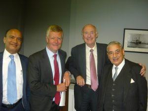 Anil G. Deshpande, Jeremy Penn, Jim Davis and Ravi Mehrotra