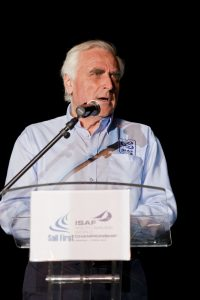 ISAF president Carlo Croce