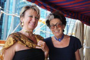 Dr Margherita Calderoni with Dr Rosa Maria Letts
