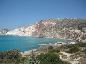 A panoramic view of one of the world's best beaches: Emporios