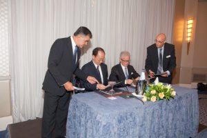 Philippos Philis, Liu Haijin, Costas Lanitis and  Petros Monogios