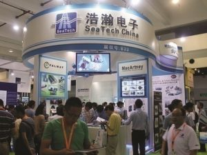 Busy stand at OI China 2013