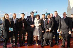 CBS Maritime - Blue MBA class - Triple E visit