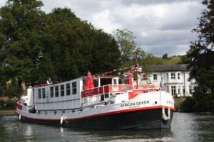 The African Queen on the Thames