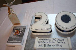 Oakeshott's 20th birthday cake