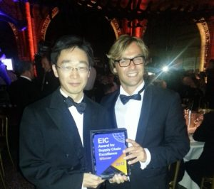 Xuhong He, Principal Consultant, Software Sales and Marketing, Lloyd's Register Energy - Consulting (pictured left), Meindert Sturm, Global Business Development Manager, Lloyd's Register Energy - Drilling