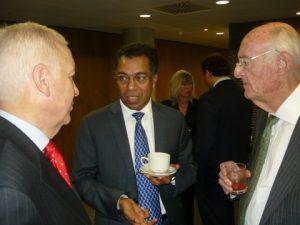 GMA/CGM's Michael Parker, ClassNK's Dr. Abdul Rahim and Jim Davis
