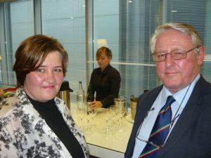 Marine Risk Management's Nicky Reyneecke and John Dalby