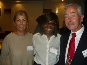 Anny Zade, Temi Binitie and James Brewer