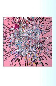 Large Canvas. Acrylic. By Misha Milovanovich,