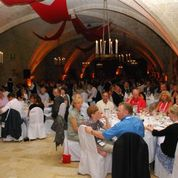 A view from one of the dinner events