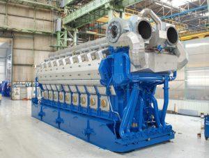 The Wärtsilä 50DF engine