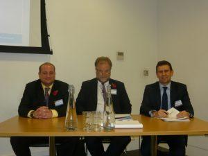l to r: Anthony Cunningham, Richard Greiner and Stephen Gordon