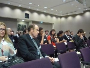 A full house at the Linklaters auditorium