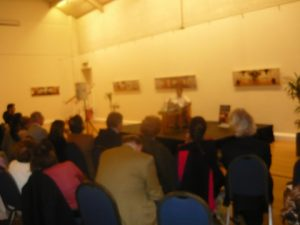 The great room of the Hellenic centre witnessed some great points of discussion...