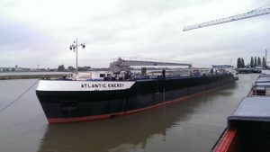 "The barge ""Atlantic Energy"""
