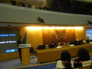 Koji Sekimizu addressing the audience - delegates and friends