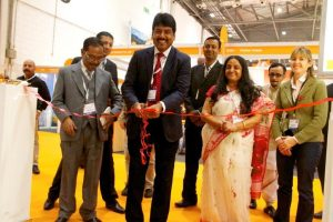 AR Bardhan of Bengal Tourism inaugurates World Travel Market stand