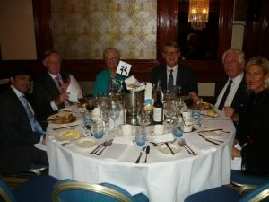 AlixPartners' Amitabh D' Souza, former Baltic Chairman Eric Shawyer, Inge Mitchell, Vroon's Herman F.M. Marks, P.W.Vroon and Chiara De Poli from  Depoli Tankers