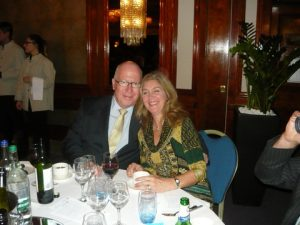Ken McLean with Simone van der Vos from Blue Fox Media