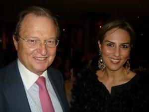 George A. Tsavliris from The Tsavliris Group and Clarkson's Chryssa Papathanassiou