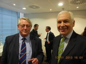 MRM's Captain John Dalby with the host Michael Parker