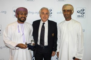 ISAF President Carlo Croce with Omani hosts
