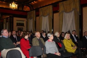 The audience at the Polish embassy