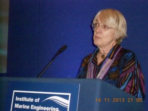 Dr. Phelomene Verlaan introducing the speaker