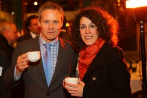 Piers O`Hegarty and Tania Bourla (both of Tysers)
