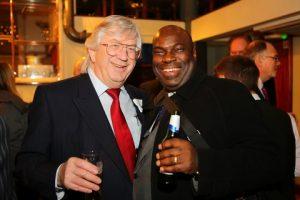 Tim Madge (Mediterranean Average Adjusters) and Samson Akande (Oakeshott Insurance)
