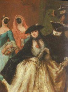 Al Ridotto. Oil on canvas. By Pietro Longhi