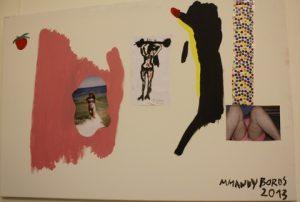 Afrodyte-Afrodyte Mixed media. By Marta Boros.