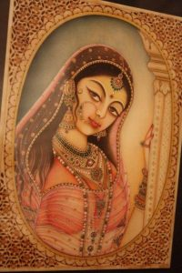 A coy maiden. By Navneet Parekh