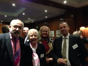 John Faraclas, Inge Mitchell, Marie Ghisi and Richard Sadler
