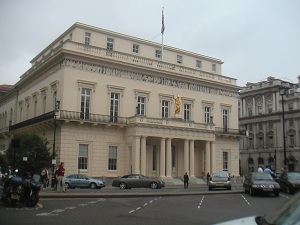 The Athenaeum in London's Pall Mall