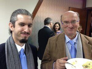 Gerry Ventouris with his son Demetris