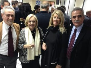 George Salliaris, Jenny Pournara, Anny Zade and Tassos Angelopoulos