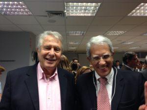 Smiling faces Triantafylos Giavrides and HAary Petrakakos