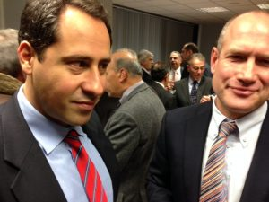 Posidonia's Theodore N. Vokos and Nick Brown of Lloyd's Register