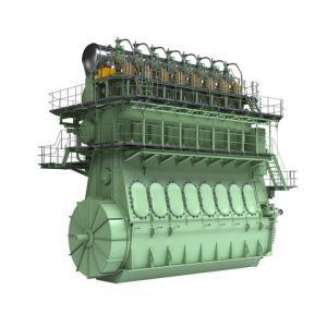 The ships are equipped with MAN B&W ME-LGI 2-stroke Diesel Dual Fuel Engines. The engine platform can be delivered for different types of Low Flashpoint Liquids, including methanol, ethanol and DME
