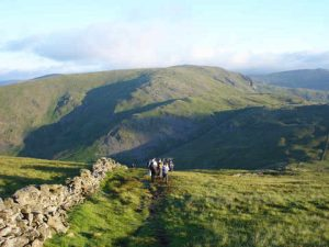 Dove Crag from above Scandale Pass in the Lake District