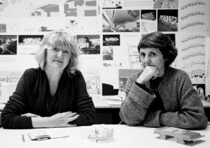 Architects Yvonne Farrell and Shelly McNamara of Grafton Architects. Photo copyrightAlice Clancy